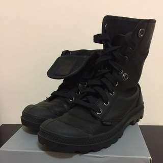 🚚 再降Palladium 皮革靴子 23.5cm