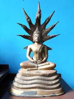 "Buddha. Brass 22"""
