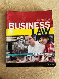 RMIT Commercial Law Textbook