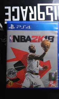 Kaset PS4 NBA2K18 Bonus NBA2K17 Bonus PES2017