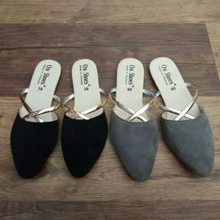 FLAT SHOES ON SHOES ( CROSS )