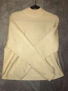 Ivory cream jumper
