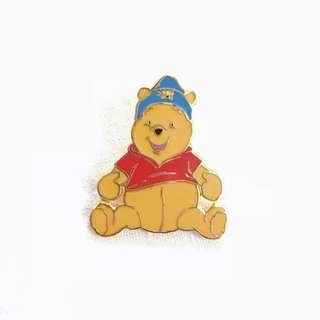 Disney Pin 迪士尼襟章 Winnie the Pooh 維尼小熊 - Bee 🐝 Cap