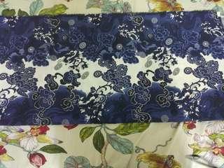 🚚 blue  cloth diy craft