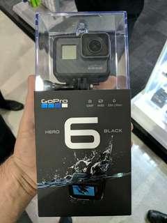 GoPro Hero 6 Bisa Di Cicil Tanpa Kartu kredit dp murah