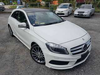 MERCEDES BENZ A180 1.6 TURBO AMG WITH PANAROMIC