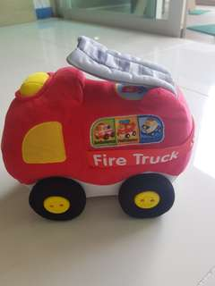 Vtech fire truck crawl and cuddle