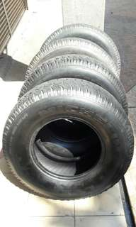 4x4 tayar at 265/70/15 michelin