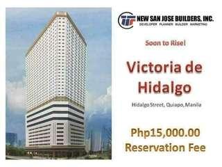Victoria De Hidalgo Preselling 1BR Condo For Sale
