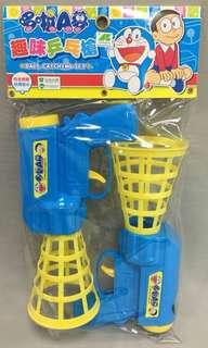 袋裝哆啦A夢趣味乒乓槍