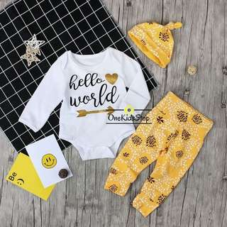 Children 3pcs Clothing Set