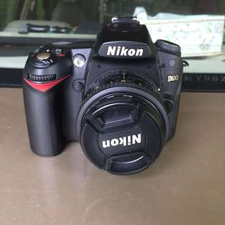 Nikon D90 fullset with 50mm f1.8d
