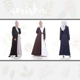 AMISHA dress ibu menyusui