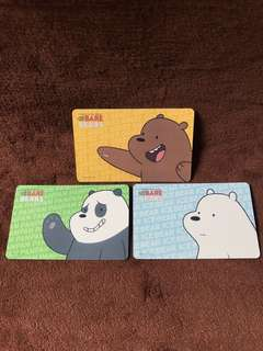 Bare Bear Ezlink Set