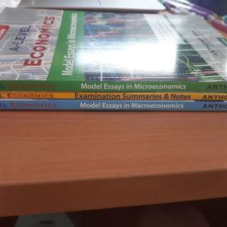 A level Econs books by Anthony Fok