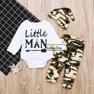 Children 3pcs Clothing Set