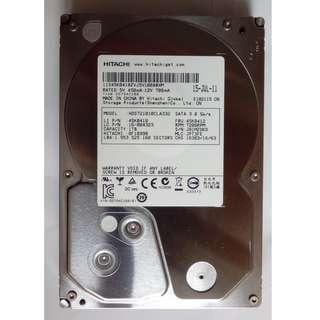 """新淨 Hitachi 3.5"""" 1TB harddisk HDD 電腦硬碟"""