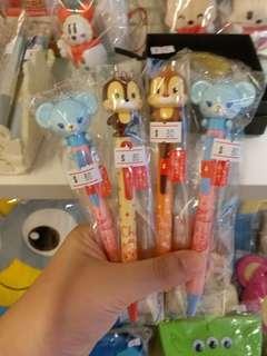 Disney store 搖頭黑色原子筆