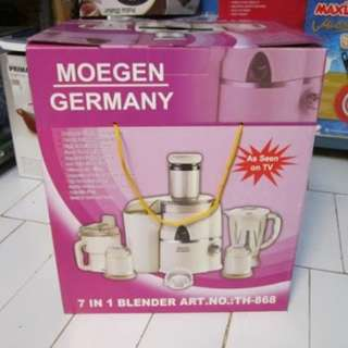 Blender Moegen Germany 7 in 1 made in korea barang bagus dan murah meriah