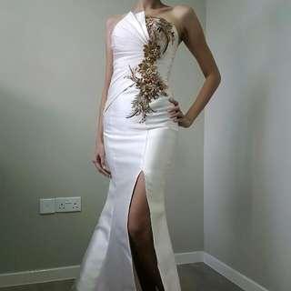 Champagne Wedding Gown