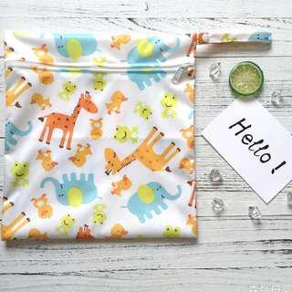 拉鍊防水尿片袋/嬰兒用品袋