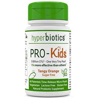 [IN-STOCK] Hyperbiotics PRO-Kids: Children's Probiotics - 60 Tiny, Sugar Free, Once Daily, Time Release Pearls - 15x More Effective than Capsules - Recommended with Vitamins - for Kids Ages 3 and Up - Very...
