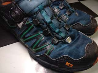 Sepatu Outdoor second no TNF but K2