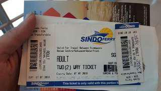 Sindo Ferry ticket