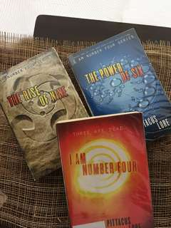 I Am Number Four (First 3 Books ONLY)