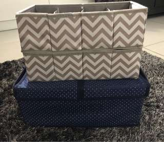 Bundle: 3 in 1 Storage boxes (Collapsible)