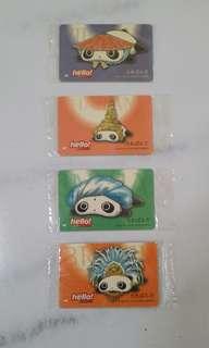 Panda Phonecards - Singtel