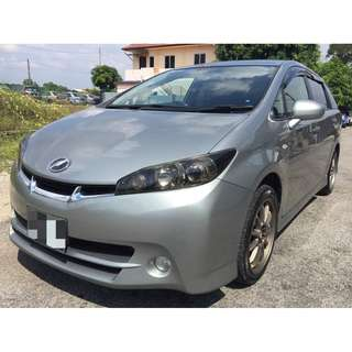 2015 TOYOTA WISH 1.8S VALVEMATIC (AT) ECO MODE