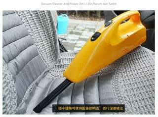 Vacuum Cleaner and Blower 2in1