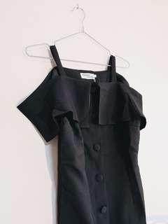 BNWT Black Off Shoulder Dress