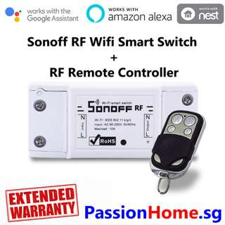 Sonoff RF Smart Switch + Remote Controller