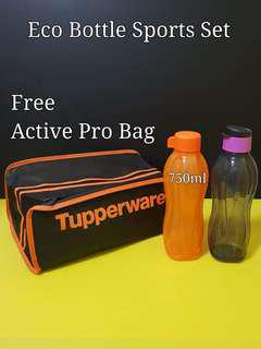 🚚 Tupperware - Eco Bottle Sport Set (1