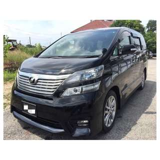 2014 TOYOTA VELLFIRE 2.4 Z PLATINUM (AT) ANH20
