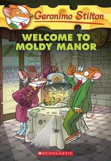(BN) Geronimo Stilton #59 Welcome to Moldy Manor