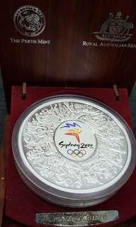 Olympic Sydney 2000 A$30 Silver Coin