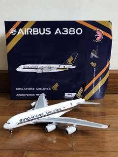1/400 Phoenix Singapore Airlines 70th anniversary Airbus A380-800
