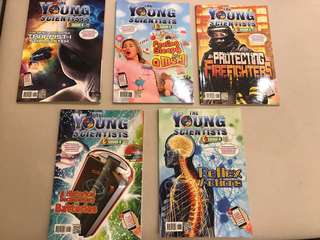 Young Scientists Level 4 vol 31, 36, 38, 39, 40