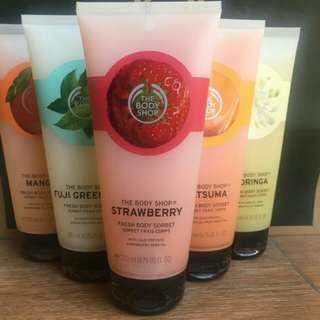 The Body Shop Body Sorbet Strawberry 200ml