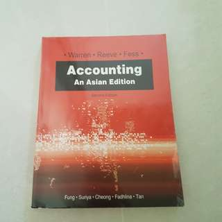 Accounting An Asian Edition Textbook