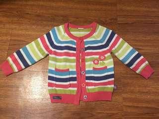Sweet baby girl cardigan (6-12m)