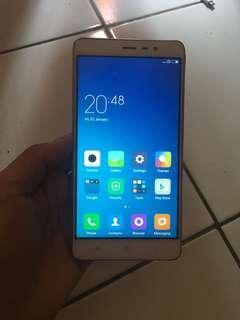 Xiaomi note 3 ram2Gb internal 16Gb
