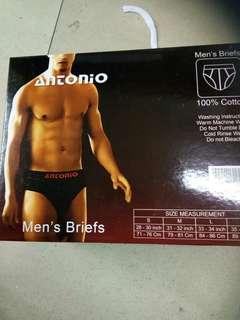 Antonio underware boy uk m, l dan xl