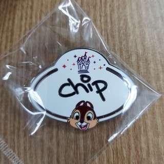 Chip Disney Pin 迪士尼徽章