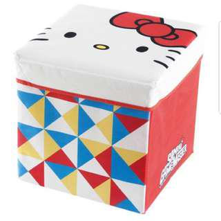 Hello kitty 收納箱