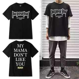 Justin Bieber Purpose Tour Shirt