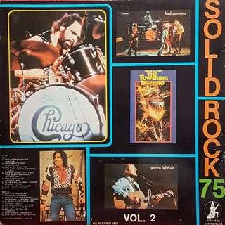 VINYL RECORD- SOLID ROCK 75
